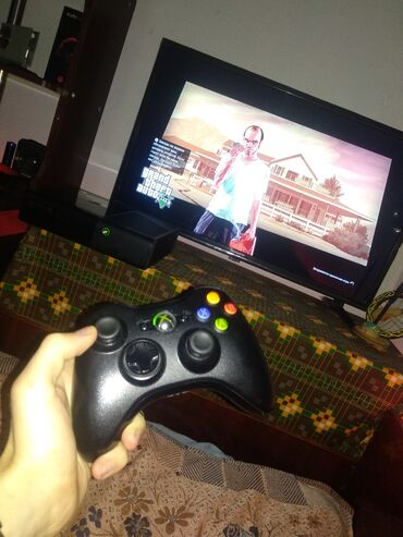 Xbox 360 & Xbox в Кыргызстан: Продаю комплект:LED телевизор 32 дюйма (новый в плёнке)Игровая
