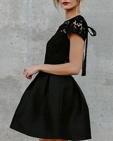 Bela haljina sa cipkom - Srbija: Svečana crna haljina, bez ikakvih oštećenja, nošena par puta samo. Poz