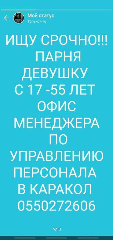 alfa romeo 4c 17 tct в Кыргызстан: Помощник. С опытом. 1/2