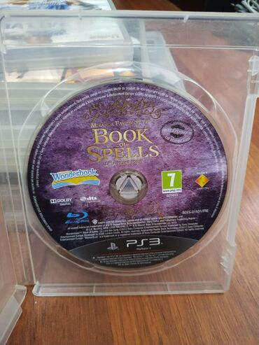 в Азербайджан: PLaystation 3 Üçün Original Oyun Diski /BOOK OF SPELLS/Diskler Ela