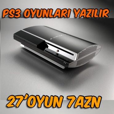 Bakı şəhərində Her Növ PS3 Üçün (Fat, Slim ve Super Slim) Modellerinin Hamisina