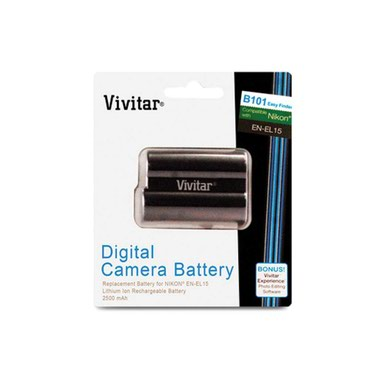 Аккумулятор для Nikon/ Vivitar EN-EL15 Ultra High в Бишкек