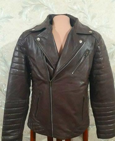 Мужская кожаная куртка. 100 % кожа. косуха. 44 размер. 4999 сом в Лебединовка