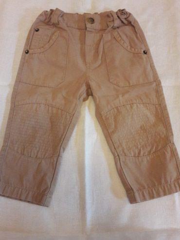Летние штаны на мальчика возраст 9-12 месяцев