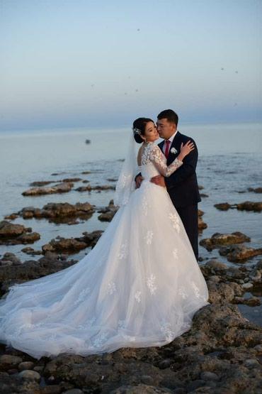 Продаю свадебное платье - трансформер  Цвет Айвори  Размер М Обшито б