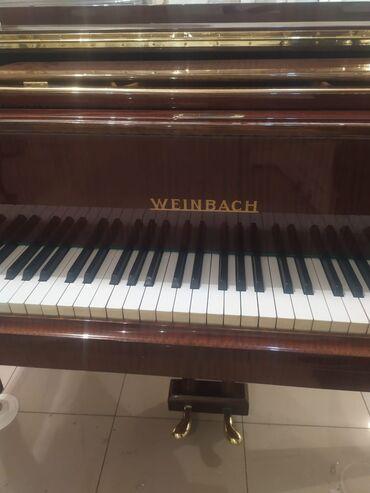 Пианино, фортепиано - Азербайджан: Röyal Weinbach Çexoslovakya istehsali Saint Petersburg dan gelib öz Re