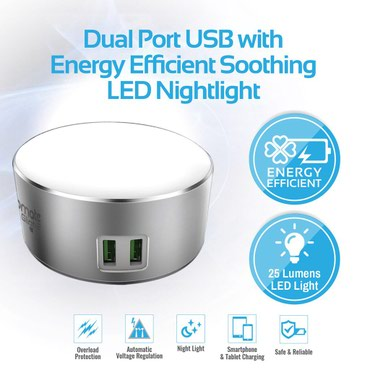 Original Ldnio led lampa ve 2 usb port adapter. yeni. qutusunda. в Bakı
