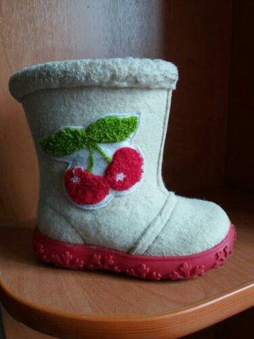 Детские сапожки бу. размеры от 22 до 26. кожаные в Бишкек
