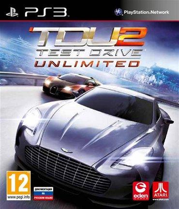 Bakı şəhərində Test Drive Unlimited (Ps3)