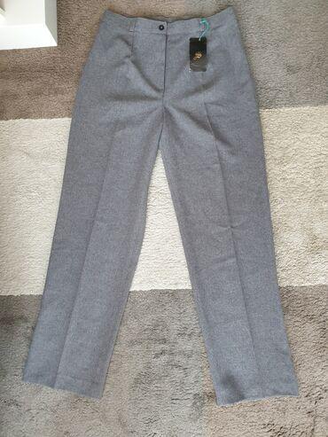 Pantalone visoki struk novo sa etiketom. Veličina 40. Dimenzije dužina