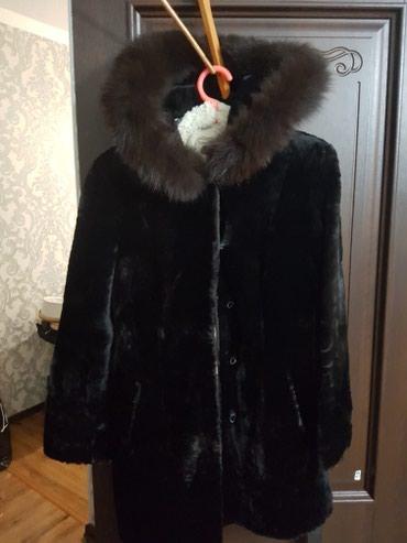 Продаю шубу из мутона размер 46-48. Пальто размер 40 в Бишкек