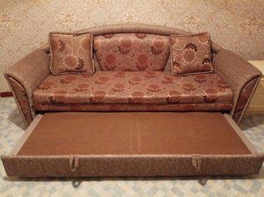 уголок диван трансформер в Кыргызстан: Диван, трансформер. Производство Польши. Состояние идеальное, почти