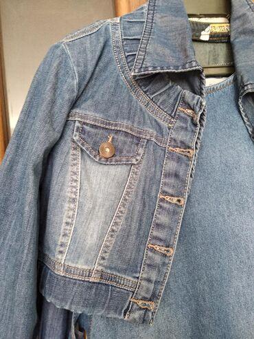 Для любителей джинсы различные болеро 2шт размер С-М 42-44 оба за 500