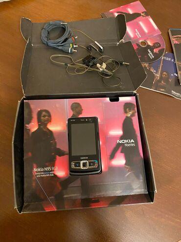 qoşma - Azərbaycan: Nokia N95 8GB BlackEdition (2007)Her bir seyi originaldi dəyişən