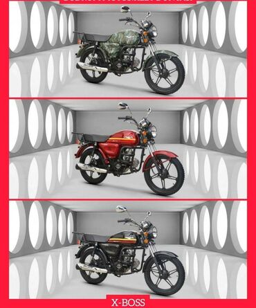 Motosiklet və mopedlər - Azərbaycan: Kuba X Boss Yeni Geldi Sifaris ucun Telesin 48 Kub Suruculuk vesiqesi