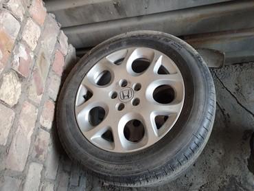 диски на хонду в Кыргызстан: 2шт диск с резиной R17 на хонду CR-V