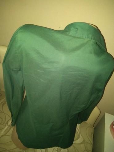 Tamno zelena kosulja. M vel - Boljevac - slika 2