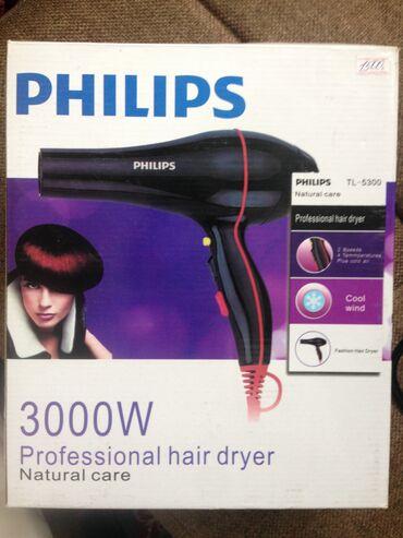 Продам фен Philips tl-5300, мощность 3000ват, ?ольт, 2 скорости подачи
