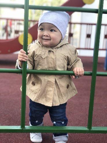 shapka-zara-dlja-devochki в Кыргызстан: Парка от Zara baby,состояние идеальное