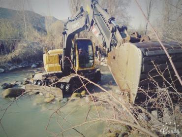 Услуги экскаватора маленького и в Бишкек