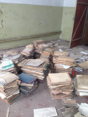 Сбор макулатуры,вывоз не менее 50 кг
