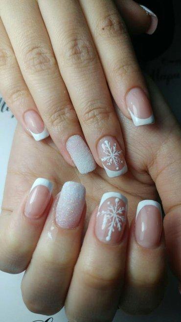 наращивание ногтей, дизайны любой сложности!!! в Бишкек - фото 3