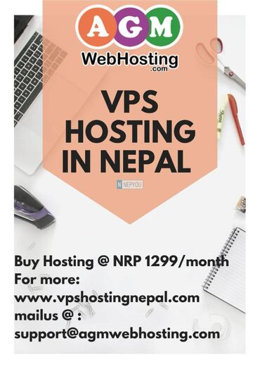 Linux VPS Hosting price is NPR Rs. 1299 per month and then 35% additio