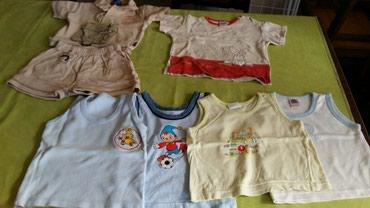 Jedna-majca - Srbija: Paket odece za bebe vel.godinu dana samo jedna majica je