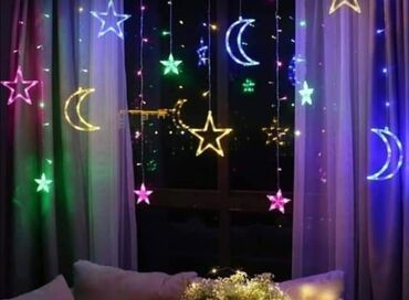 Sijalice - Beograd: Novogodišnje sijaliceNaziv: Moon Star Christmas GarlandsMaterijal: PC