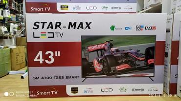 """led lampalar - Azərbaycan: Star-max Led TV43""""düym-108""""cmFullHd 1080PSmart tvWi-fi"""