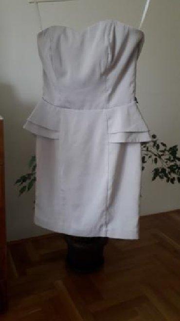 Ženska odeća | Pozarevac: Izuzetna HM halji.na, svetlo sive boje, velicina 38 M kupljena u