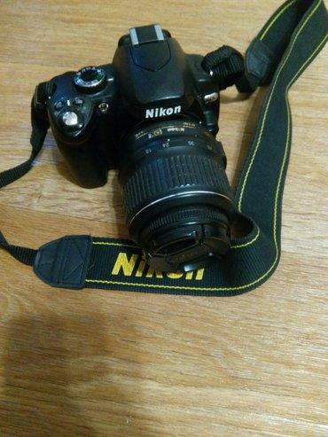 фотоаппарат nikon d40 с пультом,чехлом в Бишкек