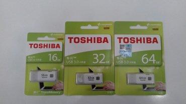 Bakı şəhərində Toshiba flash kart 16 gb 20 azn...... 32 gb 30 azn.... 64  gb 60 azn