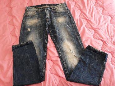 Bonobo-jeans - Srbija: Benneli jeans muske farmerice, velicina 34. Nosene par puta, u