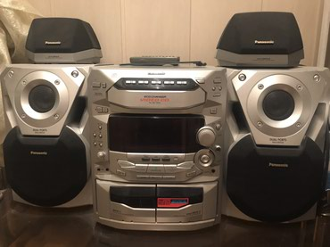 Магнитафон Panasonic (CD STEREO SYSTEM) SA-AK38 , video cd , в Бишкек