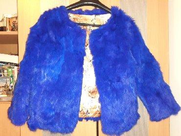 Krzneni kaputi - Nis: Nova, nenosena bunda od prirodnog, zecjeg krzna. Velicina xxl ali