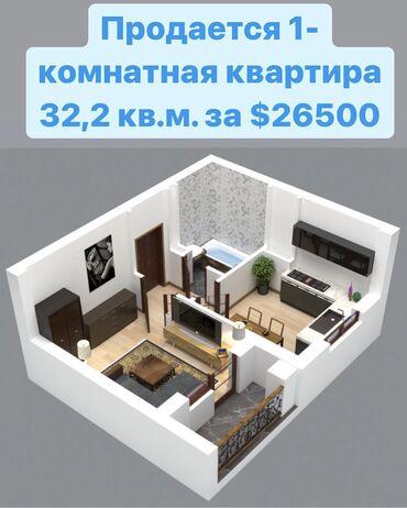 за сколько можно продать волосы in Кыргызстан   ПАРИКМАХЕРЫ: Элитка, 1 комната, 32 кв. м Лифт