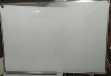 Магнитно маркерная доска 80 см на 120 см с полочкой для аксессуаров 3
