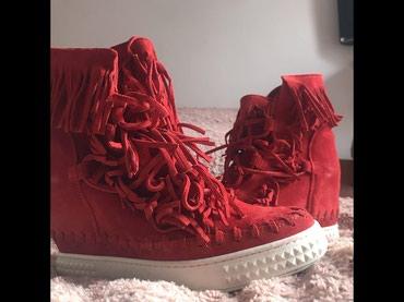 10129 oglasa: Zenske kozne patike cipele jednom obuvene br.37