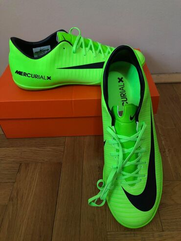 Patike za fudbal - Srbija: Nike 42.5 (27cm) Mercurial patike za fudbal NOVONike MercurialX