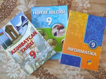 301 elan   İDMAN VƏ HOBBI: İnformatika (2017), Həyat bilgisi (2016), Azərbaycan tarixi (2019) 9cu