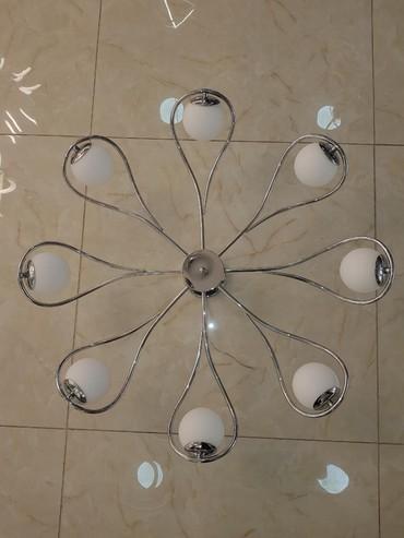 пояльные лампы в Кыргызстан: Люстра 8 и 6 ламп