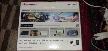 Электроника - Ош: Продаю автомагнитолу pioneer mvh-s325bt новая