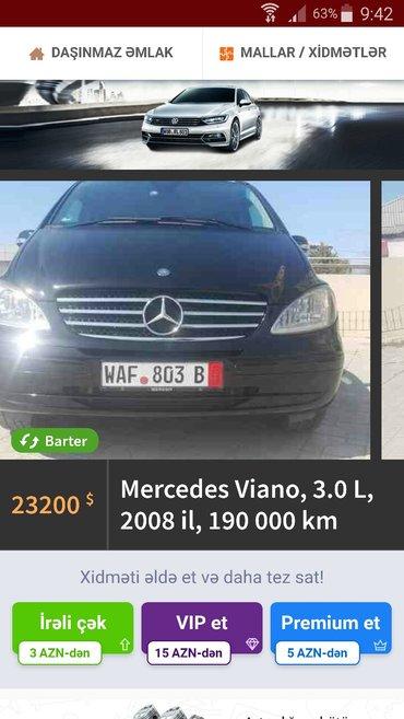 Bakı şəhərində Mercedes-Benz Viano 2008