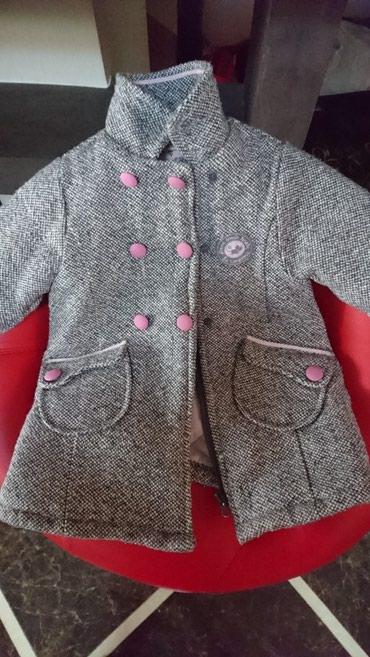 Bakı şəhərində Пальто 1,2 yaş Пальто б/у в идеальном состояние На 1,2 годик.  Palto