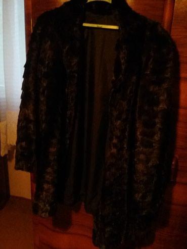 Kraca bunda od nerca crne boje velicina xl zamena za monton. - Arandjelovac