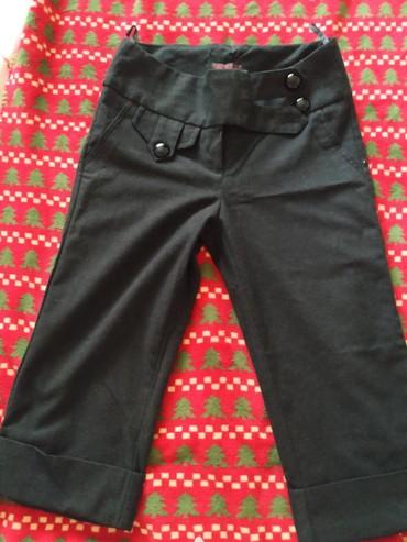 Suknja somot i pantalone coja suknja 40 pantalone 7/8 36 br - Nis