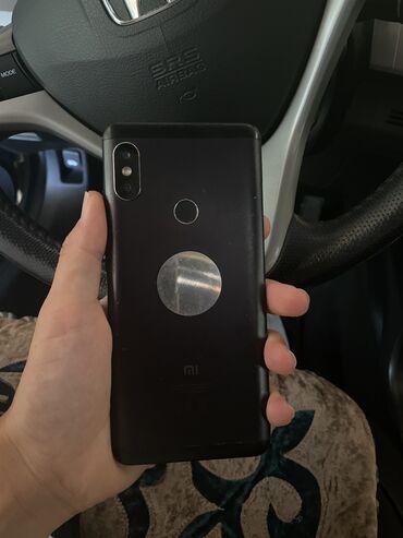 Электроника - Кара-Суу: Xiaomi Redmi Note 5   32 ГБ   Черный   Гарантия, Отпечаток пальца, Две SIM карты