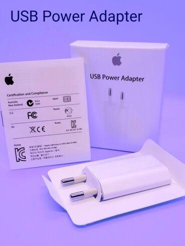 зарядка apple в Азербайджан: Original Apple adapter başlıqları satıram. İstifadə olunmayıb