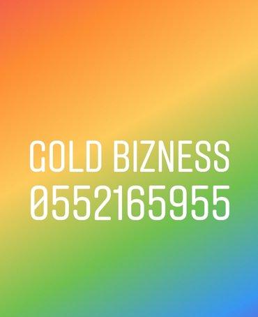 Bakı şəhərində Bizness Gold Bakcell